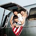 TFBOYS最新专辑《快乐环岛》封面图片