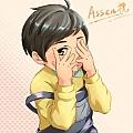 Assen捷最新专辑《少年如故》封面图片