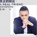 王峰最新专辑《真正的朋友》封面图片