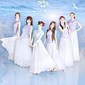 萌萌哒天团最新专辑《一路有你》封面图片