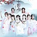 萌萌哒天团最新专辑《中国画》封面图片