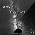我是,你是