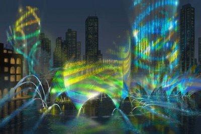 迪拜音乐喷泉所有歌曲